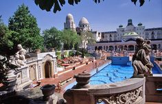 Outdoor pool. Hotel Gellert Budapest Hungary. One is a most beautiful pleasure resort baths in the World, amazing! You have to go and let You see!