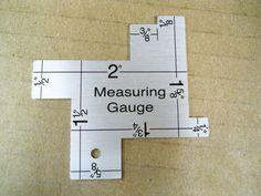 Sewing Measuring Gauge