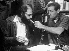 Allen Ginsberg and Neal Cassady