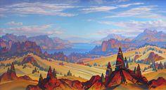 John Revill - paintings of the Okanagan region in British Columbia, Canada
