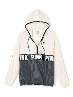 pink by victoria's secret rain jacket - Google Search