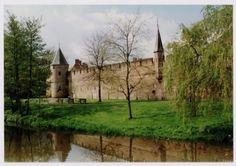 Stadsmuur in Plantsoen-Oost, gezien vanaf de Flierbeeksingel. Aan de andere kant van de muur bevindt zich Achter de Kamp.