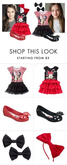 """Faith Rose & Hope Lily Mikaelson"" by ninapereira25m on Polyvore featuring moda, Disney, Melissa, H&M e Dorothy Perkins"