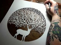 one of my favourite, most inspiring designers paper cut.