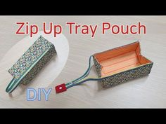 DIY Pencil case / Zipper pouch tutorial / Making a zipper pouch / Making a pencil case - Zipper pouch making / pencil case / Pencil case / Zipper pouch / ペ ン ケ ー ス を 作 る / - Pencil Case Pattern, Zipper Pencil Case, Diy Pencil Case, Leather Pencil Case, Pouch Pattern, Pencil Pouch, Pencil Case Tutorial, Diy Sewing Projects, Sewing Hacks