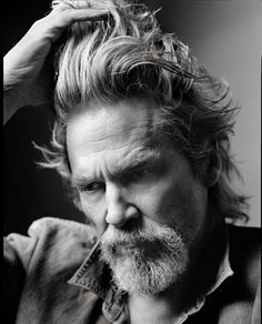 Jeff Bridges, actor. Bridges face & features are a photographers dream. Sharp cheekbones and pensive expressions are received perfectly in any lighting set-up.
