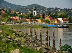 Szentendre, Hungary is along the Danube Cycling route