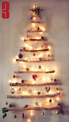 24 Non-Traditional Christmas Tree Ideas » Random Tuesdays