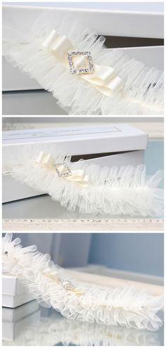strumpfband braut handgefertigt romantisch weiß elfenbein strass tüll hochzeit strumpfbänder hochzeitsstrumpfband aus-spitze fuer-braut tüll-strumpfband tüll-strumpfband-elfenbein