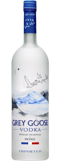 Grey Goose Vodka.GREY GOOSE is the name that has become synonymous with quality vodka..| spiritedgifts.com