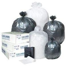 High-density Can Liner, 30 X 37, 30-gallon, 10 Micron, Black, 25/roll IBSS303710K Discount
