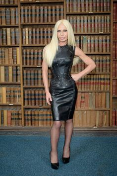 Donatella Versace. easiest halloween costume ever.