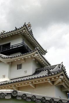 Kakegawa Castle--close up