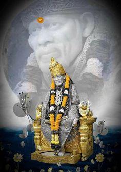 Sai Baba Pictures, God Pictures, Marathi Status Images, Shirdi Sai Baba Wallpapers, Sai Baba Hd Wallpaper, Sai Baba Quotes, Flower Lamp, Baba Image, My Photo Gallery