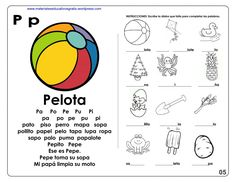 CUADERNO PARA APRENDE A LEER I MATERIAL EDUCATIVO Summer Worksheets, Syllable, Kids Learning, Curriculum, Acting, Kindergarten, Teacher, Journal, Activities