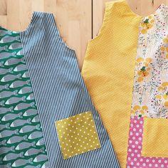 Custom made girl's sundresses. Getting ready for summer!