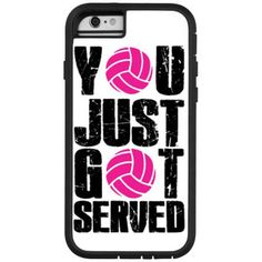 iPhone 6 Volleyball Case - Served at Volleyball.Com