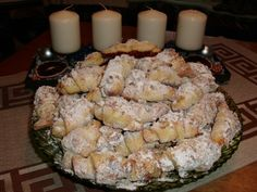 Trdelníkové svadobné rohlíčky (fotorecept) - obrázok 10 Sweet Desserts, Potato Salad, Ale, Potatoes, Treats, Cheese, Chicken, Cooking, Ethnic Recipes