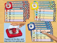 Pop & Win Letter Writing Games at Lakeshore Learning Writing Games, Writing Practice, Living With Autism, Letter Games, Lakeshore Learning, Really Good Stuff, Primary Teaching, Letter Writing, Alphabet