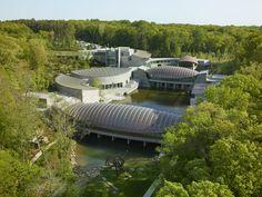 crystal bridges | Crystal Bridges Museum of American Art from Moshe Safdie: The Path to ...