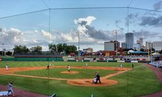 Dickey-Stephens Park. Home of the Arkansas Travelers