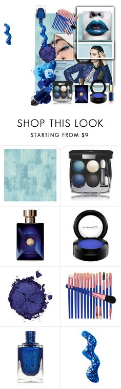 """""""makeup"""" by style-with-me95 ❤ liked on Polyvore featuring beauty, Designers Guild, Sephora Collection, OPI, Chanel, Versace, MAC Cosmetics, Pat McGrath and Topshop"""