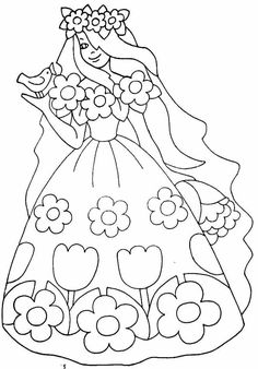Cute Coloring Pages, Coloring Pages For Kids, Coloring Books, Diy For Kids, Crafts For Kids, Printable Coloring Sheets, Spring Activities, Hand Embroidery Patterns, Colorful Drawings