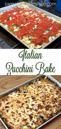 Italian Zucchini Bake is an easy dinner side dish recipe that uses a few ingredi. - Italian Zucchini Bake is an easy dinner side dish recipe that uses a few ingredients and lots of su - Dinner Side Dishes, Dinner Sides, Side Dishes Easy, Side Dish Recipes, Italian Side Dishes, Italian Dinner Recipes, Italian Cooking, Zuchinni Recipes, Vegetable Recipes
