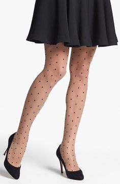 Free shipping and returns on Nordstrom 'Sheer Dot' Control Top Pantyhose at Nordstrom.com. Fine dots that punctuate smooth, sheer control top pantyhose add a playful retro vibe to any outfit.