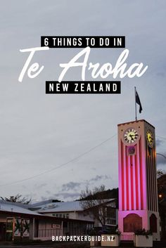 Get inspiration for things to do in Te Aroha, New Zealand, with this list of the best activities in Te Aroha. New Zealand Itinerary, New Zealand Travel Guide, Water Geyser, Edwardian Architecture, Stuff To Do, Things To Do, Holiday Resort, South Island, Hot Springs