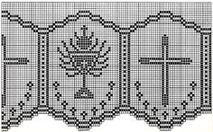 Filet Crochet Edging Patterns for Altar Cloths and Robes 2