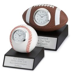 """With the feel of a """"real"""" sports ball, our tastefully done sports awards are ready to recognize a team player, favorite coach or star athlete. Gifts For Golfers, Golf Gifts, Sports Gifts, Team Mom, A Team, Dugout Mom, Baseball Treats, Football Coach Gifts, Golf Tips Driving"""
