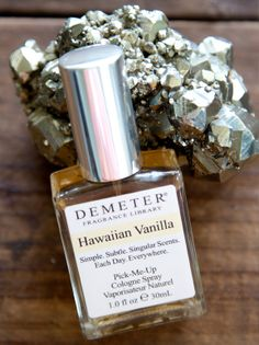 Hawaiian Vanilla Demeter fragrance cologne from Molten Store available at www.miannscanlan.com