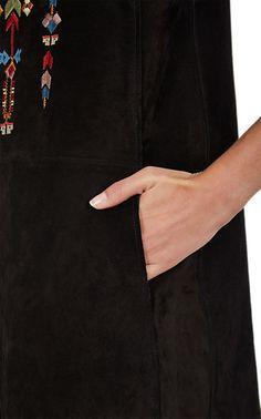Isabel Marant Leather Martin Vest - Leather - Barneys.com