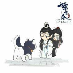 The Untamed Anime Anime Chibi, Anime Art, Chibi Characters, Animes Wallpapers, Little Pony, Cute Drawings, Kawaii, Fan Art, Cartoon
