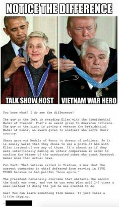 The reason he gave her the medal was because she stands up for LGBTQ+ rights not because she's a talk show host. Intersectional Feminism, The More You Know, Faith In Humanity, No Me Importa, Social Issues, Social Justice, Thought Provoking, Ohana, In This World