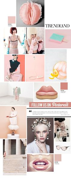 Trendland's Curating the Curated Pinterest Collage: Grapefruit @Trendland
