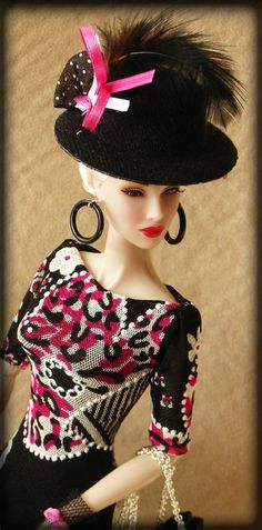 OOAK Outfit Dress for Silkstone Fashion Royalty Vintage Barbie | eBay