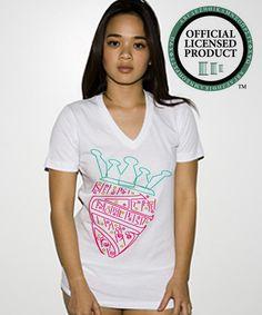 Zeta Tau Alpha American Apparel V-Neck Shirt  $18 at www.imgreek.org  Preorder up until May 30th