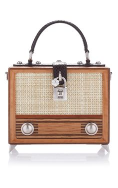 Vintage Radio Box Bag by DOLCE & GABBANA for Preorder on Moda Operandi