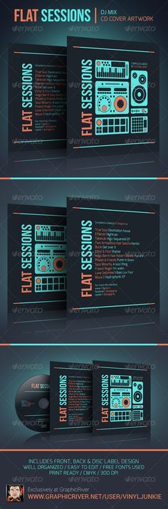 ProDJ - DJ Press Kit \/ Rider \/ Resume PSD Template Press kits - dj resume