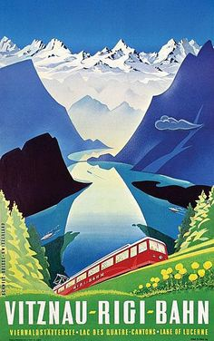 Martin Peikert, Viznau-Rigi-Bahn, 1957