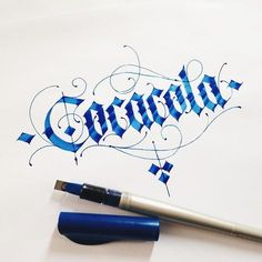 Coca cola hand lettering type typography font ink blue classy vintage