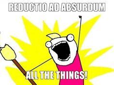 Reductio ad absurdum