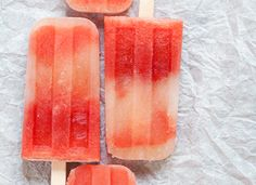 """Watermelon-Mint Tequila Popsicles. . and more """"adult"""" Popsicles to try....."""