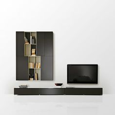 Awesome Modern Tv Wall Units For Living Room Designs Image 06 White Largest Home Design Picture Inspirations Pitcheantrous