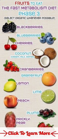 The Fast Metabolism Diet: The Fast Metabolism Diet Phase 3 - Approved Fruits: #health #fitness #weightloss #healthyrecipes #weightlossrecipes