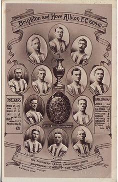 Brighton  Hove Albion FC 1909-1910