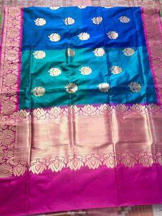 Banaras katan silk saree