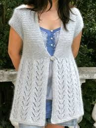 Today we have added a very nice ladies vest model for you. You can easily wear this model with many clothes. In order to make this model that will keep you warm Crochet Jacket, Knit Vest, Knit Crochet, Diy Crafts Knitting, Cardigan Pattern, Knit Patterns, Baby Knitting, Knitwear, Short Sleeve Dresses